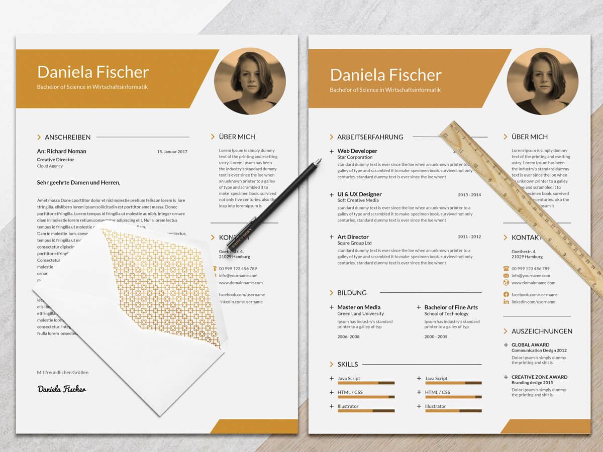 Mrs.Fischer – Lebenslaufvorlagen | Bewerbungsvorlagen