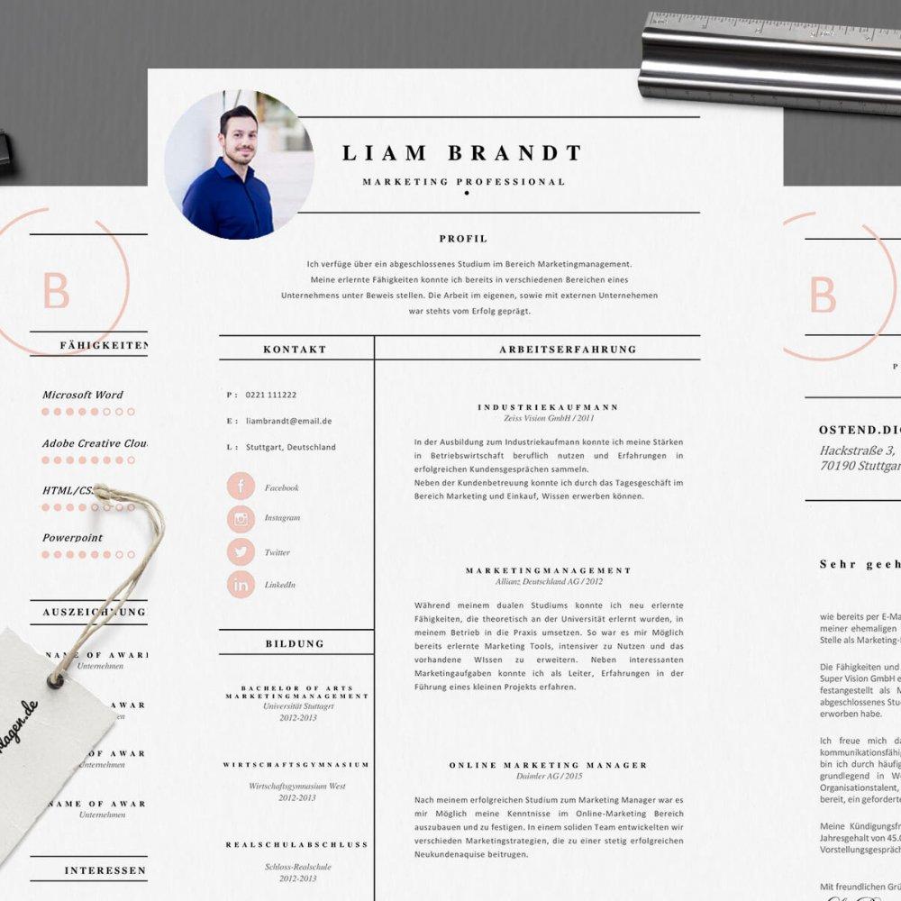 Mr. Brandt - Lebenslaufvorlagen | Bewerbungsvorlagen